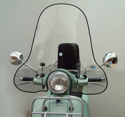 Vespa GT200 Windshield